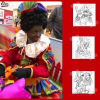 Kids Workshop - Sinterklaas Kleurplaten Maken
