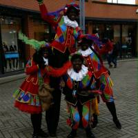 Het Te Gekke Zwarte Pieten Team - 4 Zwarte Pieten