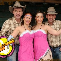 Dikdakkers Cowboys en Indianenshow