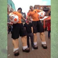 Steltlopende Voetballers