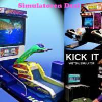 Simulatoren deal  - Voetbal Simulator - Jetski Simulator - Motor Race Simulator