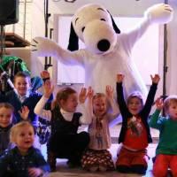 Op de Foto met Snoopy