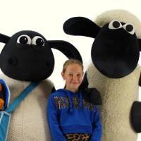 Op de Foto met Shaun het Schaap & Timmy