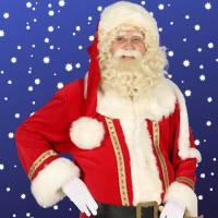Rondlopende Kerstman