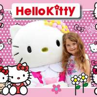 Op de foto met - Hello Kitty