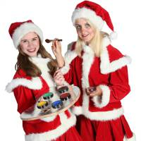 Schminkstand Kerst