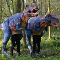 Dinosaurus Duo - Straattheater Act