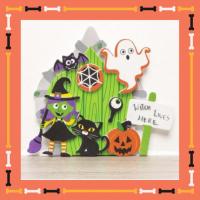 Kids Workshop - Halloween Heksen Deuren Maken