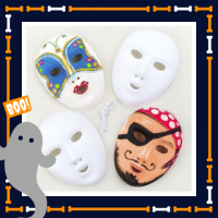 Kids Workshop - Halloween Maskers Versieren
