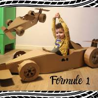 Kids Workshop - Formule 1 Raceauto's Versieren