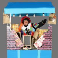 Snoep Piet met de Mobiele Pietenkraam