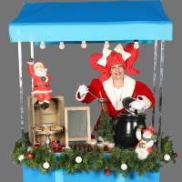 Sjaan met de Mobiele Kerstkraam