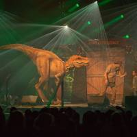 Dino experience liveshow on tour