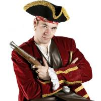 Sjaak de Piraat Kindershow boeken of inhuren