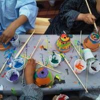 Kids Workshop Bloempot Schilderen