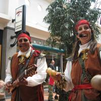 Muzikaal duo Pirates of the Caribbean boeken of inhuren