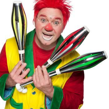 Clown Flapipo Kindershow inhuren of boeken?