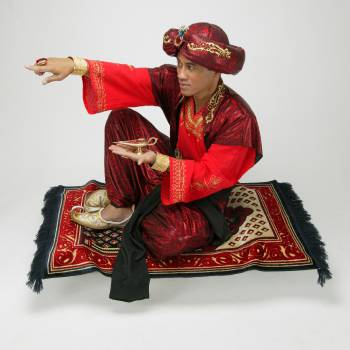 Aladdin Kindershow inhuren of boeken