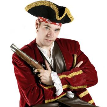 Ballonnenartiest Sjaak de Piraat inhuren of boeken?