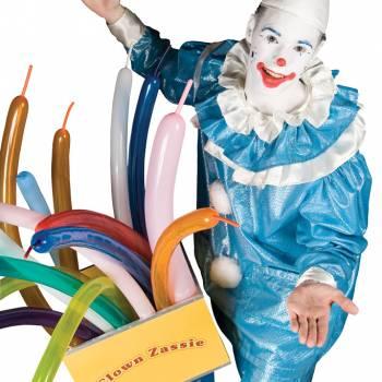 Zassie de Ballonnen Clown inhuren of boeken?