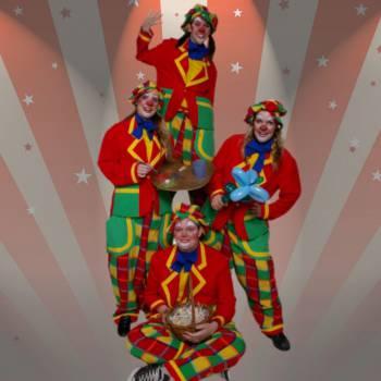Het Te Gekke Clowns Team Boeken of Inhuren?