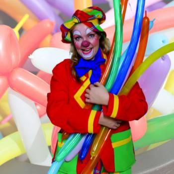 Ballonnen Clown Tuutje Boeken of Inhuren?