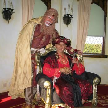 Sinbad & Aladdin - Kindershow inhuren of boeken?