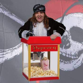 Piraten popcornstand Boeken of Inhuren?