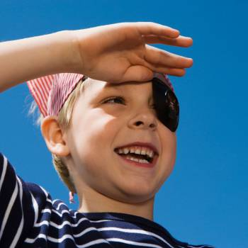 Kids Workshop - Piraten Masker Maken Boeken of Inhuren?