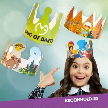 Koninklijke Kroontjes - Uitdeelactie Boeken of Inhuren?