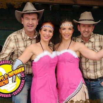 Dikdakkers Cowboys en Indianenshow boeken