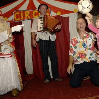Circus voor Sinterklaas inhuren of boeken?