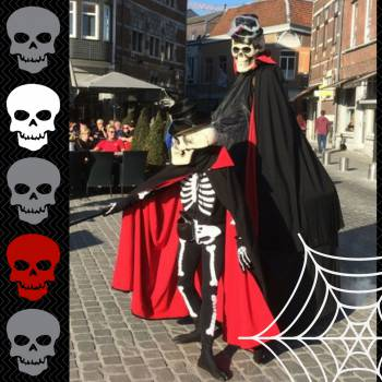 The Skeletons - Straattheater boeken of huren?