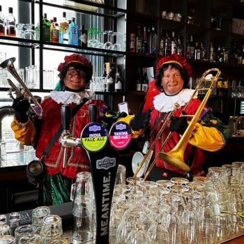 Zwarte Pieten dixie duo boeken of huren