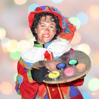 Schminkstand met Zwarte Pieten huren