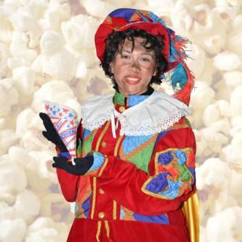 Zwarte Pieten Popcornstand huren of boeken?
