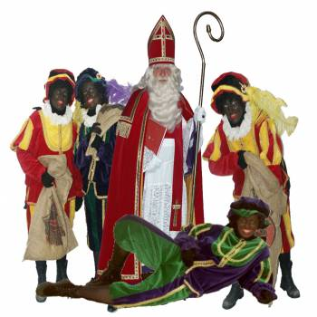 Sinterklaas en 4 Zwarte Pieten huren of boeken?