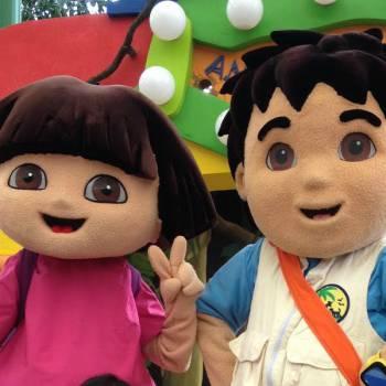 Dora & Diego - Minishow huren of boeken?