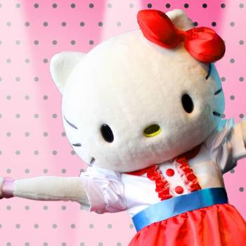Meet & Greet Hello Kitty inhuren of boeken