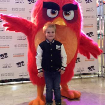 Meet & Greet Red van Angry Birds boeken of huren?