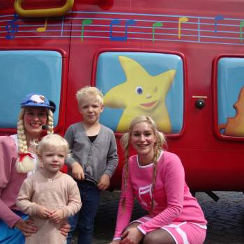 Meet & Greet met Beep de Bus en Jill boeken of inhuren