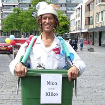 Nico van de Kliko inhuren of boeken?