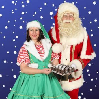 Zoen van de Kerstman & het Kerstvrouwtje Boeken of Inhuren?