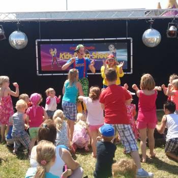 Kids Disco Show met Dotje en Snotje Boeken of Inhuren?