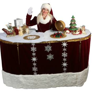 Miss Mable X-Mas Table inhuren of boeken?