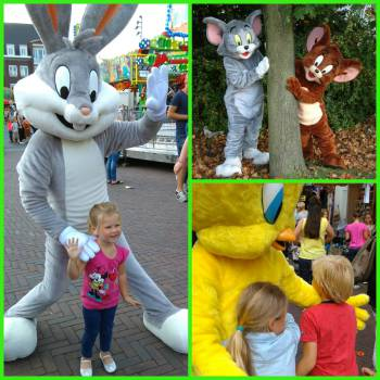Meet & Greet Bugs Bunny, Tweety en Tom & Jerry