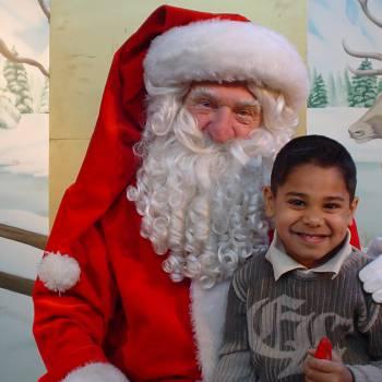 Op de foto met de Kerstman Boeken of Inhuren?