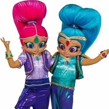 Meet & Greet Shimmer en Shine inhuren of boeken?