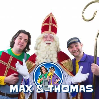 Max & Thomas - Pakken uit met Sinterklaas boeken of inhuren?