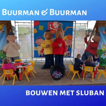 Buurman & Buurman bouwen met Sluban boeken of inhuren?